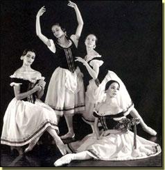 Las primeras cuatro Giselles del Ballet de Victor Ullate