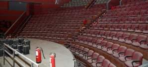 Teatro de Madrid cerrado